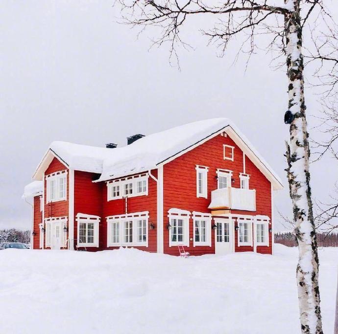 芬兰不只有极光,还有童话般的雪景.