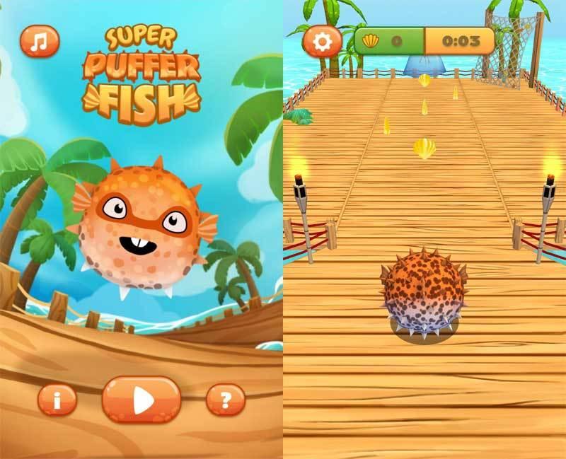 html5 3D超级河豚鱼手机游戏源码