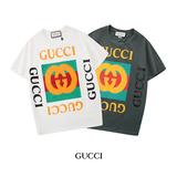 G家新款,经典印花logo 男女同款 短袖T恤