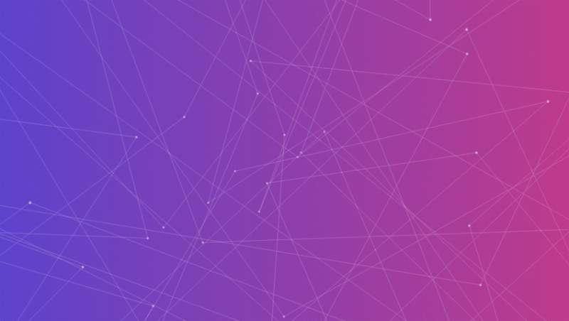 html5 canvas酷炫的3D线条动画背景特效